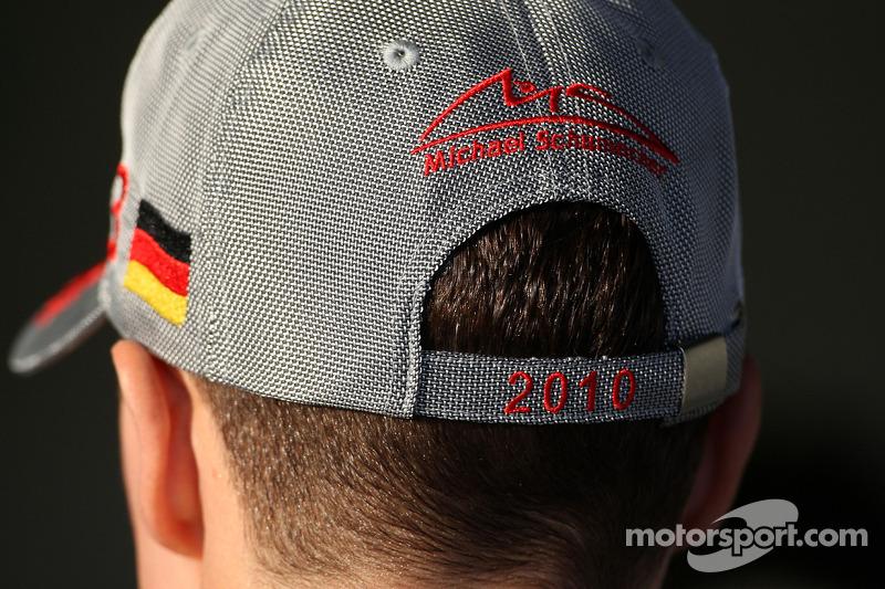 De pet van Michael Schumacher, Mercedes GP
