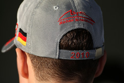 The hat of Michael Schumacher, Mercedes GP