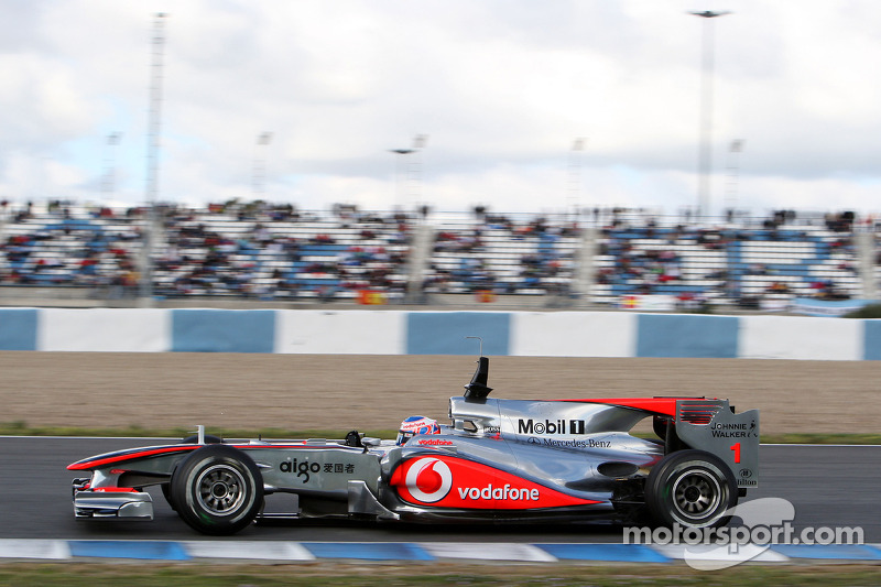2010: Jenson Button, McLaren Mercedes, MP4-25