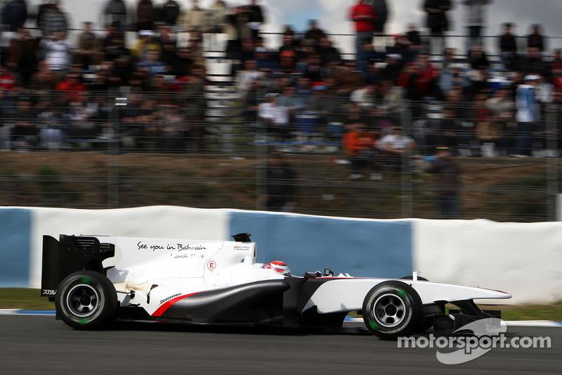 2010: Kamui Kobayashi, BMW Sauber C29