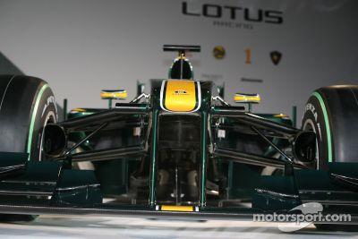 Lotus T127, lanzamiento, Londres, GB