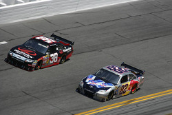 Scott Speed, Red Bull Racing Team Toyota, Robert Richardson Jr., Front Row Motorsports with Yates Racing Ford