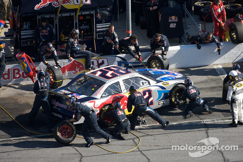 Pitstop Scott Speed, Red Bull Racing Team Toyota