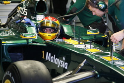 Fairuz Fauzy, testcoureur, Lotus F1 Team, T127
