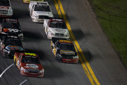 Johnny Benson leads the field