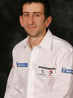 Benoît Lacheny, #2 Peugeot 908 HDi FAP chief