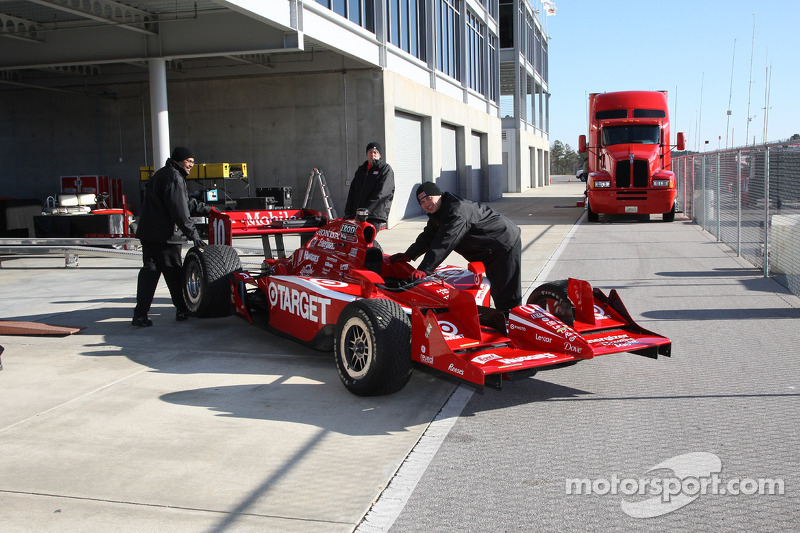Auto van Dario Franchitti, Target Chip Ganassi Racing