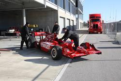 Car of Dario Franchitti, Target Chip Ganassi Racing