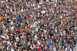 Las Vegas fans klaar voor de race