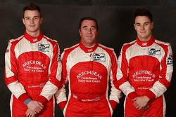 Leo Mansell, Nigel Mansell and Greg Mansell
