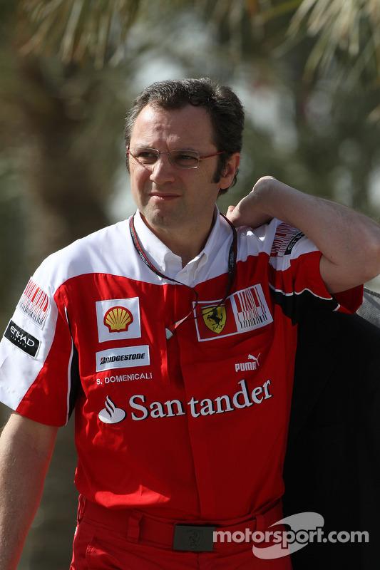 Stefano Domenicali Ferrari General Director