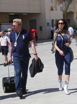 Boris Becker en zijn vrouw Sharlely Becker-Kerssenberg