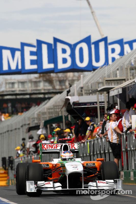 Paul di Resta, testrijder, Force India F1 Team
