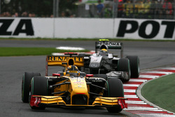 Robert Kubica, Renault F1 Team ve Nico Rosberg, Mercedes GP