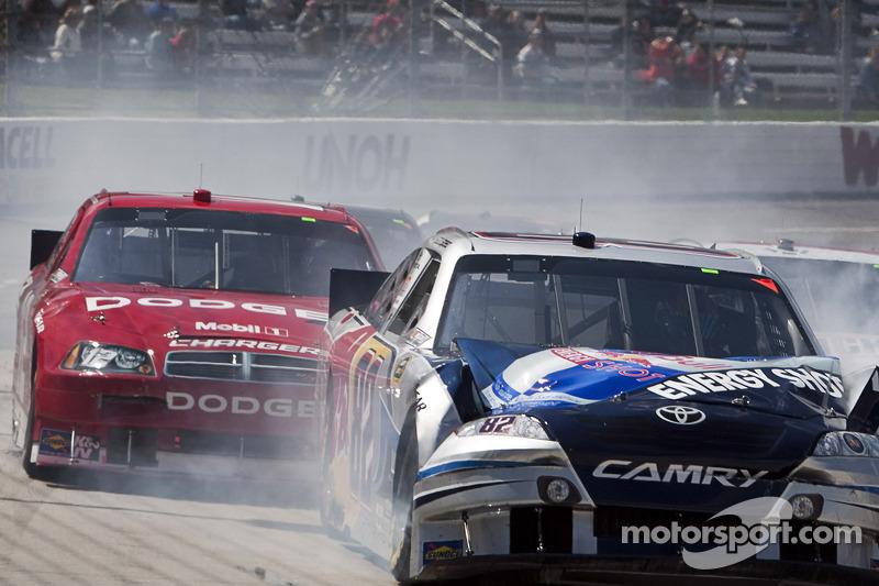 Scott Speed, Red Bull Racing Team Toyota crash