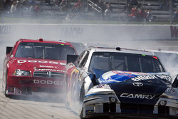 Scott Speed, Red Bull Racing Team Toyota crashes