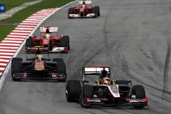 Karun Chandhok, Hispania Racing F1 Team, Jaime Alguersuari, Scuderia Toro Rosso
