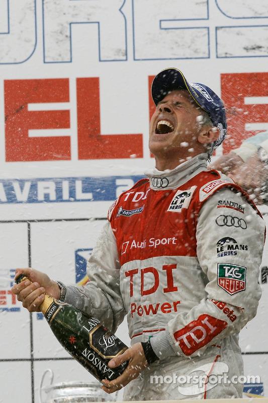 LMP1 podium: klasse en algemeen winnaar Rinaldo Capello