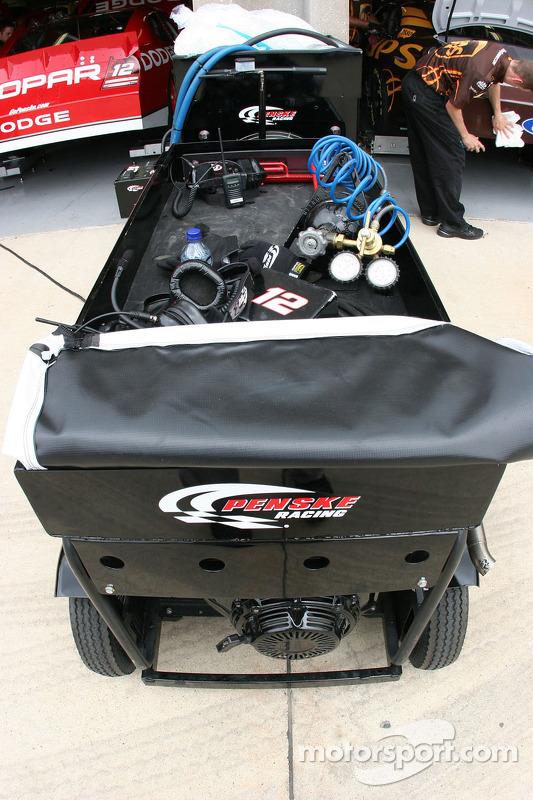 Penske Racing, #12 Dodge Brad Keselowski
