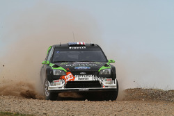 Ken Block en Alex Gelsomino, Ford Focus WRC 08, Monster World Rally Team