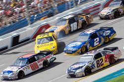 Crash: Johnny Sauter, Tommy Baldwin Racing, Chevrolet