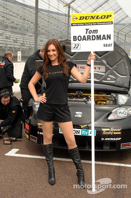 Tom Boardman's gridgirl