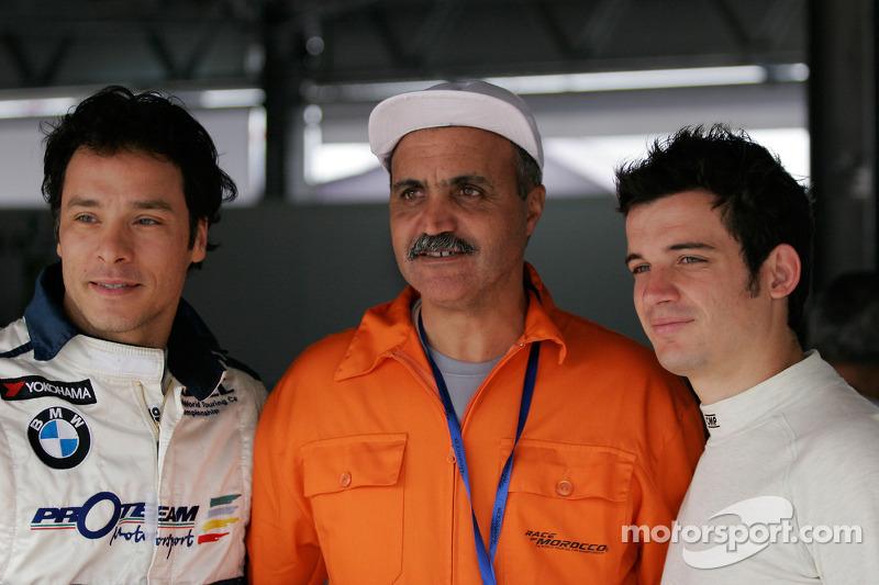 Stefano D'Aste, BMW 320si en Sergio Hernandez, Scuderia Proteam Motorsport, BMW 320si
