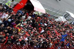 Pitwalk about