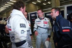 Franck Montagny, Pedro Lamy, Sébastien Bourdais and Nicolas Minassian