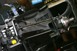 Mercedes GP technical detail