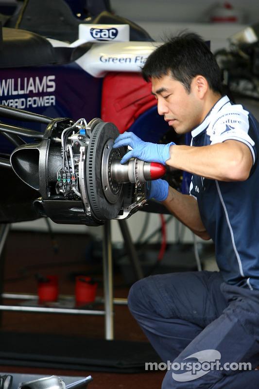 Williams F1 Team mecanicien