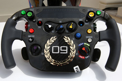 Jenson Button, McLaren Mercedes Monaco editiion steering wheels with Steinmetz Diamonds