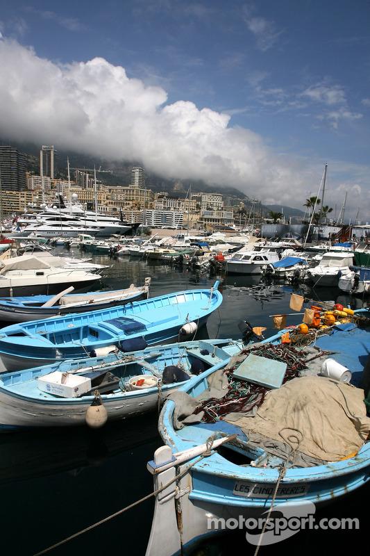 Monaco sfeerbeeld, boten