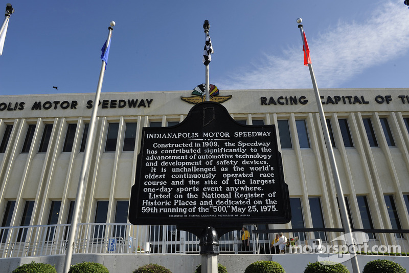 The Indianapolis Motor Speedway