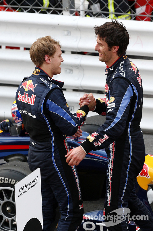 Sebastian Vettel, Red Bull Racing, Mark Webber, Red Bull Racing