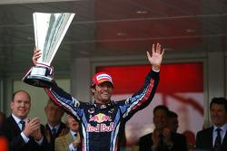 Podium: Mark Webber, Red Bull Racing
