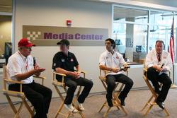 Target Chip Ganassi press conference