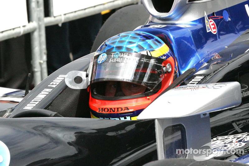 Davey Hamilton, deFerran Dragon Racing waits to qualify