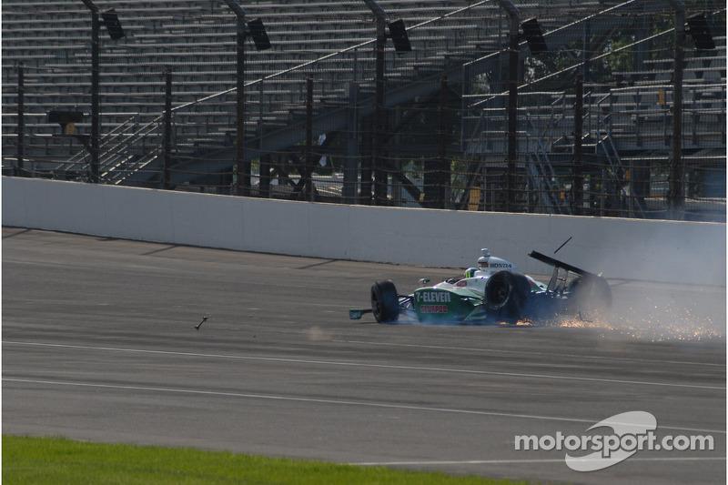 Problemen voor  Tony Kanaan, Andretti Autosport