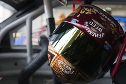 Helmet of Matt Kenseth, Roush Fenway Racing Ford