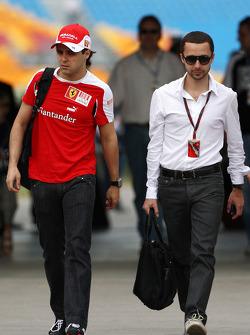Felipe Massa, Scuderia Ferrari, Nicolas Todt, manager