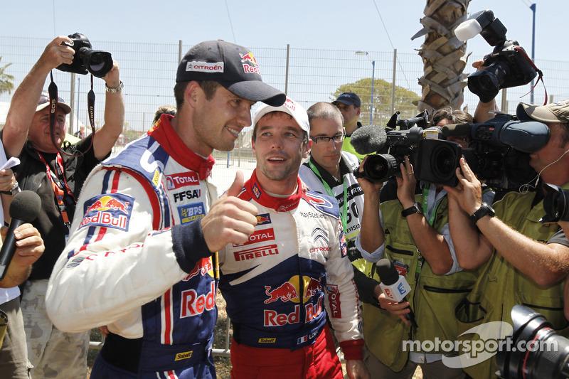 Sébastien Ogier en Sébastien Loeb