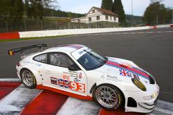 #93 JWA Racing Porsche 997 GT3 RSR: Paul Daniels, Oskar Slingerland