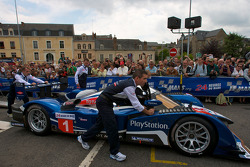 #1 Team Peugeot Total Peugeot 908 at scrutineering