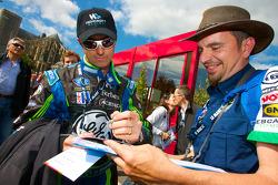 David Brabham signs autographs