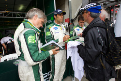Paul Drayson, Emanuele Pirro and Jonny Cocker