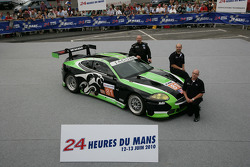 #81 Jaguar RSR Jaguar XKRS: Paul Gentilozzi, Ryan Dalziel, Marc Goossens
