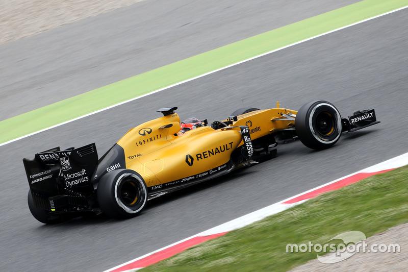 Esteban Ocon Tercer piloto Renault Sport F1 Team