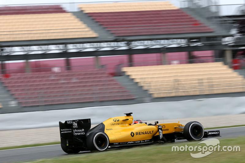 Esteban Ocon, Tercer piloto, Renault Sport F1 Team