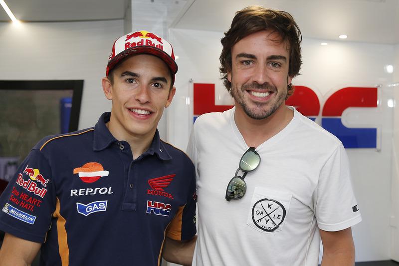 Marc Maárquez, Repsol Honda Team, Fernando Alonso
